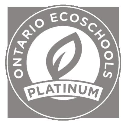 EcoSchool Certified platinum