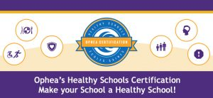 St. Mary Is Officially an OPHEA Registered Healthy School