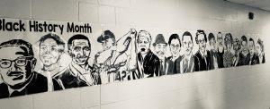 BLACK HISTORY MONTH ARTISTIC MURAL