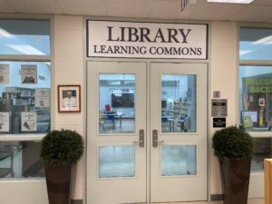 St. Mary Library Learning Commons Website
